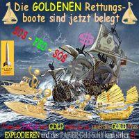 SilberRakete_GOLDene-Rettungsboote-belegt-Dollar-Euro-SOS-FED-Papiergeldschiff-sinken