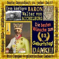 SilberRakete_Geb63WE-Baron-Aichelburg-Wappen-Burg-Bild-Krone-Rahmen-Danke-Wuensche-GOLD-SILBER2