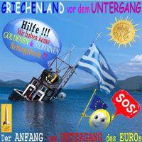 SilberRakete_Griechenland-vor-dem-Untergang-Sonne-Schiff-Schlagseite-Kein-GOLD-SILBER-Euro-SOS