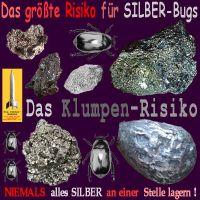 SilberRakete_Groesstes-Risiko-von-SILBER-Bugs-Klumpen-Kaefer-Niemals-alles-an-einer-Stelle-lagern