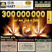 SilberRakete_Hartgeld-300Mill-Zugriffe-Feuerwerk-Inflationsgeld