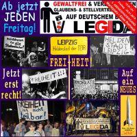 SilberRakete_LEGIDA-Jetzt-jeden-Freitag-Heldenstadt-DDR-Leipzig-Plakate-1989-Freiheit-Jetzt-erst-recht