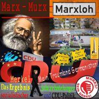 SilberRakete_Marx-Murx-Marxloh-Moschee-Merkel-Traumland-Germanistan-Ergebnis-Sozialismus-CDU-Politik