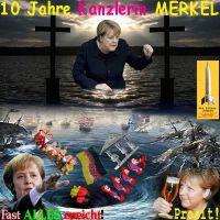 SilberRakete_Merkel-10Jahre-Kanzlerin-Kreuze-Tod-Wasser-Ziele-erreicht-D-SchwarzesLoch-Prost