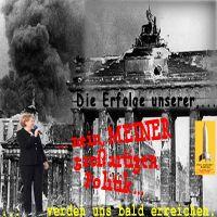 SilberRakete_Merkel-Berlin-Reichstag1945-2015-Erfolge-meiner-grossartigen-Politik-SchwarzeFahne-Verrat