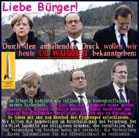 SilberRakete_Merkel-Hollande-Rajoy-Buerger-Flugzeugabsturz-WAHRHEIT-Staumauer-Abschuss-Flut-Kraftwerk-Religion-Unruhe