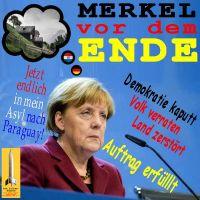 SilberRakete_Merkel-vor-dem-Ende-Asyl-Paraguay-Demokratie-kaputt-VolksVerrat-Auftrag-erfuellt
