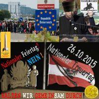 SilberRakete_Nationalfeiertag-Oesterreich-Grenze-Vereidigung-Imam-20151026-Trauertag-GOLD-Durchhalten-Kaiser