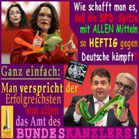 SilberRakete_SPD-Spitze-Gegen-Deusche-Nahles-Frosch-Gabriel-GrueneSchlange-Erfolgreich-Bundeskanzler2