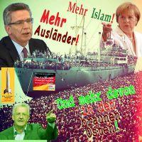 SilberRakete_Schiff-Fluechtlinge-deMaiziere-Mehr-Auslaender-Merkel-Islam-Kretschmann-Osten