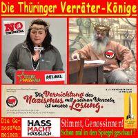 SilberRakete_Thueringer-Volksverraeter-LotharKoenig-KatharinaKoenig-Antifa-Hass-macht-haesslich