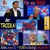 SilberRakete_Tsipras-Das-Ende-der-Troika-EZB-EU-IWF-Lagarde-Juncker-Der-Junge-hat-Recht