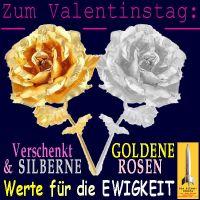 SilberRakete_Valentinstag2015-Schenkt-GOLDENE-SILBERNE-Rosen-Werte-fuer-Ewigkeit