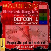 SilberRakete_Warnung-DEFCON1-hoechste-Verteidigungsstufe-Uhr-5vor12-gut-aufpassen