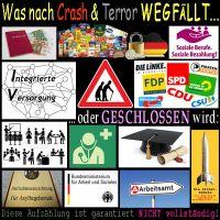 SilberRakete_Was-nach-Crash-wegfaellt-Geld-Essen-Soziales-Rente-Partei-Arzt-Schule-Uni-Asyl-Amt
