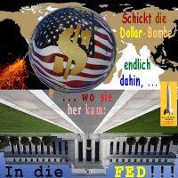 SilberRakete_Weltkarte-USA-Fahne-Schickt-Dollar-endlich-dahin-wo-er-her-kam-In-die-FED