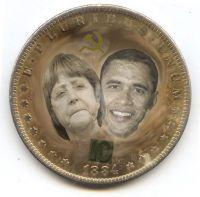 Merkel-Obma-Dollar